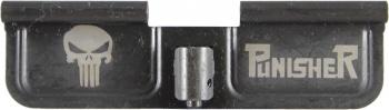 Punisher AR-15 Laser Engraved Ejection Port Dust Cover