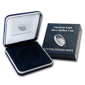 Official U.S. Mint Box for 1 oz Silver Eagle Coin