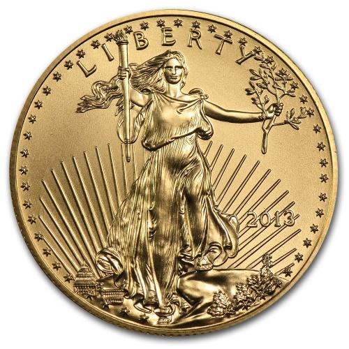 2013 1 2 Oz Gold American Eagle Coin
