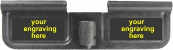 Custom Laser Engraved AR-15 Ejection Port Dust Cover