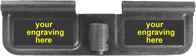 Custom Laser Engraved Ar 15 Ejection Port Dust Cover