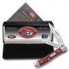Case Cutlery Peanut Red Pocket Worn - ANC-CA781