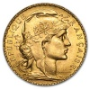 1910 Gold French 20 Franc Rooster (.1867 AGW)
