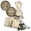 Lot of Five(5) 1942-1945 Silver War Nickels