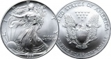 1995 1 oz Silver American Eagle Coin