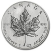 2008 1 oz Silver Canadian Maple Leaf Coin