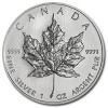 2008 1 oz Silver Canadian Maple Leaf Coin