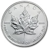 2011 1 oz Silver Canadian Maple Leaf Coin in Air-Tite Capsule