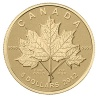 2012 1/10 oz Gold Canadian Maple Leaf Forever in Mint Box