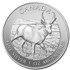 2013 Canadian Silver Antelope Coin 1 Oz .9999 Fine