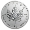 2013 Canadian Silver Maple Leaf 1 oz .9999 Fine