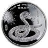 2013 Year of the Snake Silver Coin 1/2 oz .9999 Fine