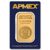 APMEX 1 Ounce Gold Bar .9999 Fine (In Assay)
