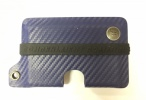 Concealment Commander CF POLICE BLUE KYDEX WALLET - 300CFBLU