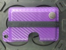 Concealment Commander CF PURPLE KYDEX WALLET - 300CFPUR