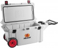 Pelican 80 QT WHITE WHEELED COOLER - 06523