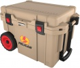 Pelican 45 QT WHEELED TAN COOLER - 06586
