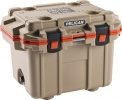 Pelican 30 QT--TAN/ORANGE COOLER - 06742