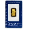 Pamp Suisse 10 Gram Gold Bar .9999 Fine (In Assay)