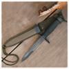 M7-B Bayonet And Scabbard Plastic Sheath675 Blade