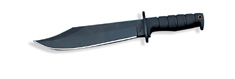 Ontario Marine Raider Bowie Knife 8345 SP10 Kraton Handle