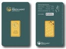 Perth Mint 20 Gram Gold Bar .9999 Fine (In Assay)