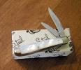 Queen Cutlery PEANUT 2 BLADE PEARL - 14P(3820)