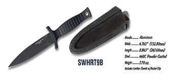 Smith and Wesson Hrt Boot Knife knives HRT9B