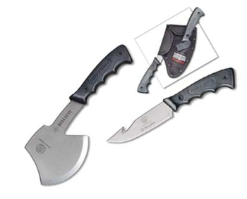 Smith and Wesson Bullseye Combo Pk / Velcro knives CH629