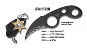Smith and Wesson BADGE KNIFE BLACK - HRT2B