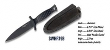 Smith and Wesson HRT BOOT KNIFE - HRT9B