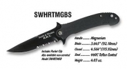 Smith and Wesson HRT MAG  SERRATED BLACK - HRTMGBS