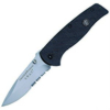 Smith and Wesson SWAT, LARGE, SERRATED, G10 - 3000G10