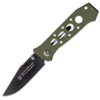 Smith and Wesson HOMELAND SEC GREEN G10 /HOLES - CK7H