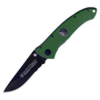 Smith and Wesson EXT OPPS GREEN/BLK SER BLADE - CKG104GS