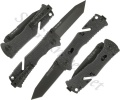SOG Trident II Black TiNi Tanto Knife TF-27