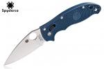 Spyderco MANIX 2-DRK BLUE/CPM S110V/PLN - C101PDBL2