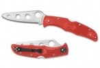 Spyderco ENDURA 4 TRAINER/RED HANDLE - C10TR
