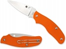 Spyderco SPY-DK SLIPJOINT--ORANGE FRN HANDLE/PLAIN EDGE - C179POR