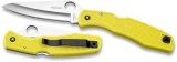 Spyderco PACIFIC SALT-YELLOW/H1/PLN - C91PYL