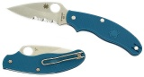 Uk Pen Knife Blue FRN Leaf Blade GIN-1 C94PSBL