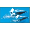 CT02 Small Knife Stand25 Inch Clear Lucite Wedges