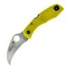 Spyderco Tasman Yellow Rust Free C106PYL Boye Dent
