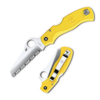 Spyderco SAVER SALT  SPYDEREDGE YELLOW - C118SYL