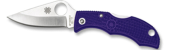 Spyderco SPLPRP3 Ladybug 3 Knife Purple Handle