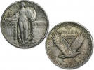 400 90% Silver Standing Liberty Quarters in Avg Circulated Condition ($100 Face Value)