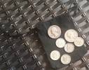 $1 Face Value of 90% Silver Coins Washington Quarters, Roosevelt Dimes, Mercury Dimes