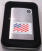 Zippo BRUSHED CHROME US FLAG - 200USP276