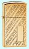 Zippo Diagonal floral high polished lighter (20160