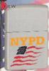 Zippo NYPD FLAG SATIN CHROME - 20485